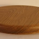 Cheese board dark oak