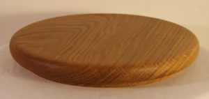 Oak cheese board, rounded sides