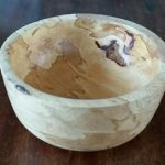 Field maple, spalted